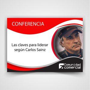 """Conferencia Carlos Sainz: Liderazgo: """"No hay más secreto que pasión y trabajo"""""""