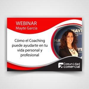 Webinar: Como el Coaching puede ayudarte en tu vida personal y profesional
